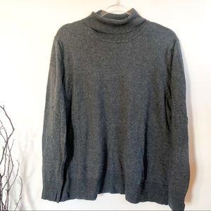 Eddie Bauer Wool Blend Turtleneck Sweater XXL
